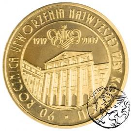 III RP, 2 złote, 2009, 90. rocznica utworzenia NIK