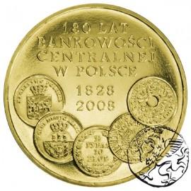 III RP, 2 złote, 2009, Bankowość centralna