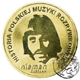 III RP, 2 złote, 2009, Czesław Niemen