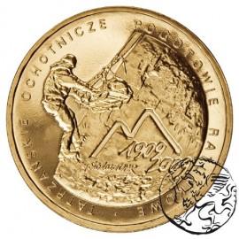 III RP, 2 złote, 2009, 100. rocznica powstania TOPR