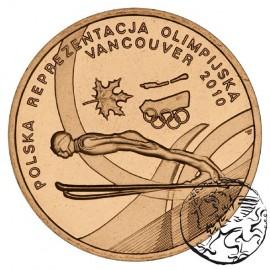 III RP, 2 złote, 2010, Vancouver 2010