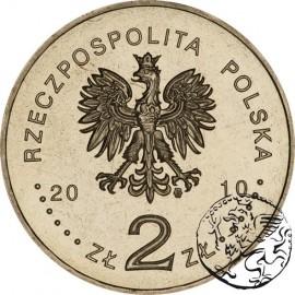 III RP, 2 złote, 2010, ks. Jan Twardowski