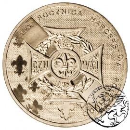 III RP, 2 złote, 2010, Harcerstwo Polskie