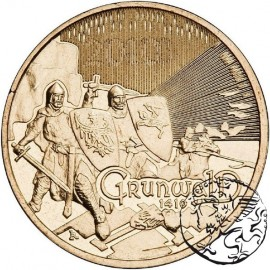 III RP, 2 złote, 2010, Grunwald