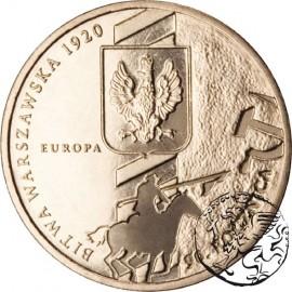 III RP, 2 złote, 2010, 90. rocznica Bitwy Warszawskiej