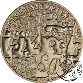 III RP, 2 złote, 2010, Polski Sierpień 1980