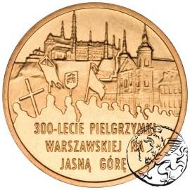 III RP, 2 złote, 2011, Pielgrzymka na Jasną Górę