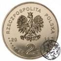III RP, 2 złote, 2011, Czesław Miłosz
