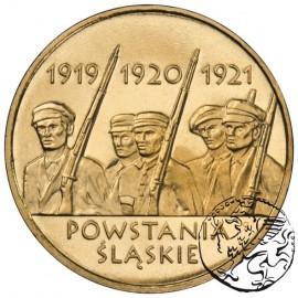 III RP, 2 złote, 2011, Powstanie Śląskie