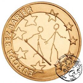 III RP, 2 złote, 2011, Europa bez barier - ociemniali