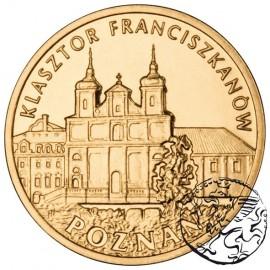 III RP, 2 złote, 2011, Poznań - klasztor franciszkanów