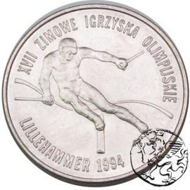 III RP, 20 000 zł, 1993, Igrzyska w Lillehammer