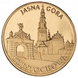 III RP, 2 złote, 2009, Częstochowa