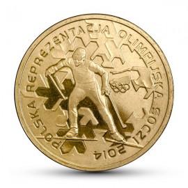 III RP, 2 złote, Olimpiada w Soczi