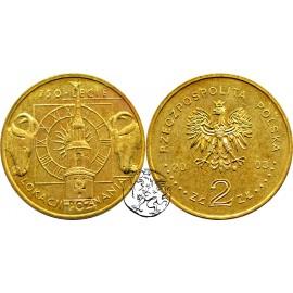 III RP, 2 złote, 2003, Lokacja Poznania