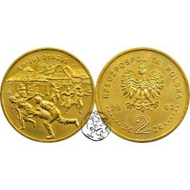 III RP, 2 złote, 2003, Śmigus Dyngus