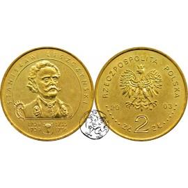 III RP, 2 złote, 2003, Stanisław Leszczyński