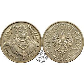 III RP, 20 000 zł, 1994, Zygmunt I Stary