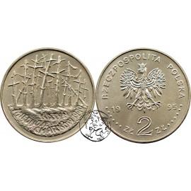 III RP, 2 złote, 1995, Katyń Miednoje Charków