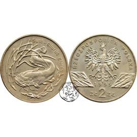 III RP, 2 złote, 1995, Sum