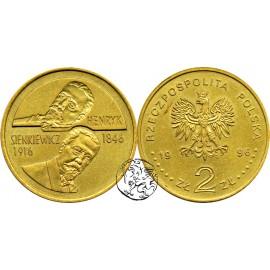 III RP, 2 złote, 1996, Henryk Sienkiewicz
