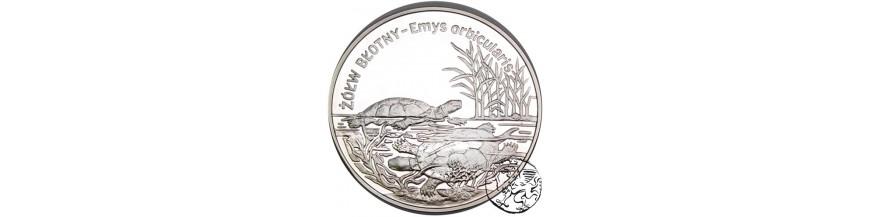Monety 10 i 20 zł 2002