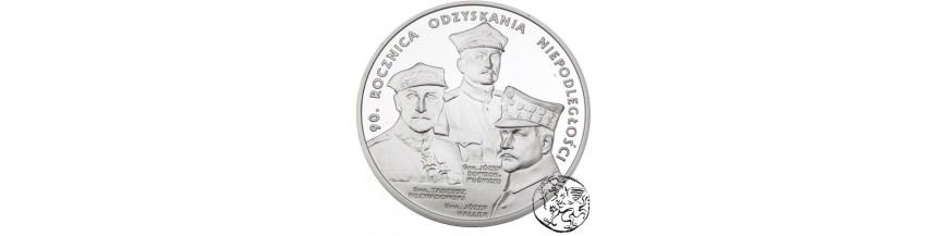 Monety 10 i 20 zł 2008