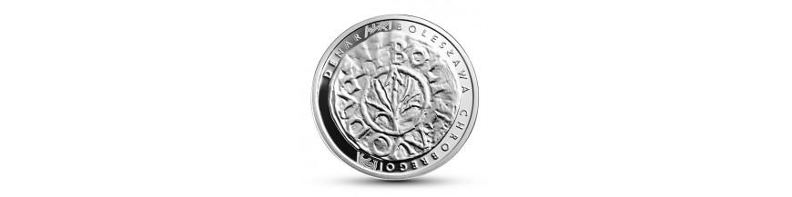 Monety 5, 10 i 20 zł  2013