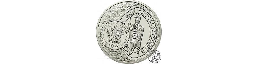 Monety 10, 20 i 50 zł 2014