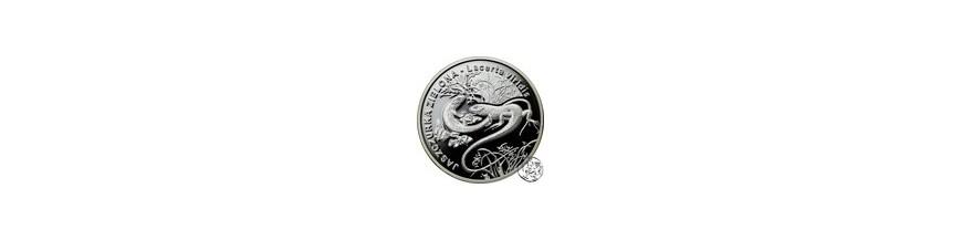 Monety kolekcjonerskie 10, 20 i 50 zł